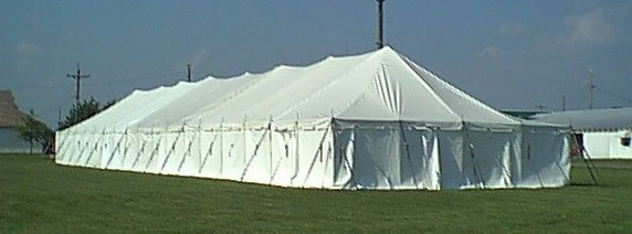 Large Pole Tent & PARTY and EVENT RENTALS | CONCESSIONS | INFLATABLES - Big Top :: Tents